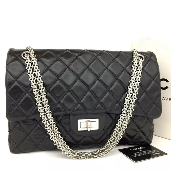 d3ccc8f662a3 CHANEL Bags | 255jumbo Double Flap Silver Hardware Bag | Poshmark